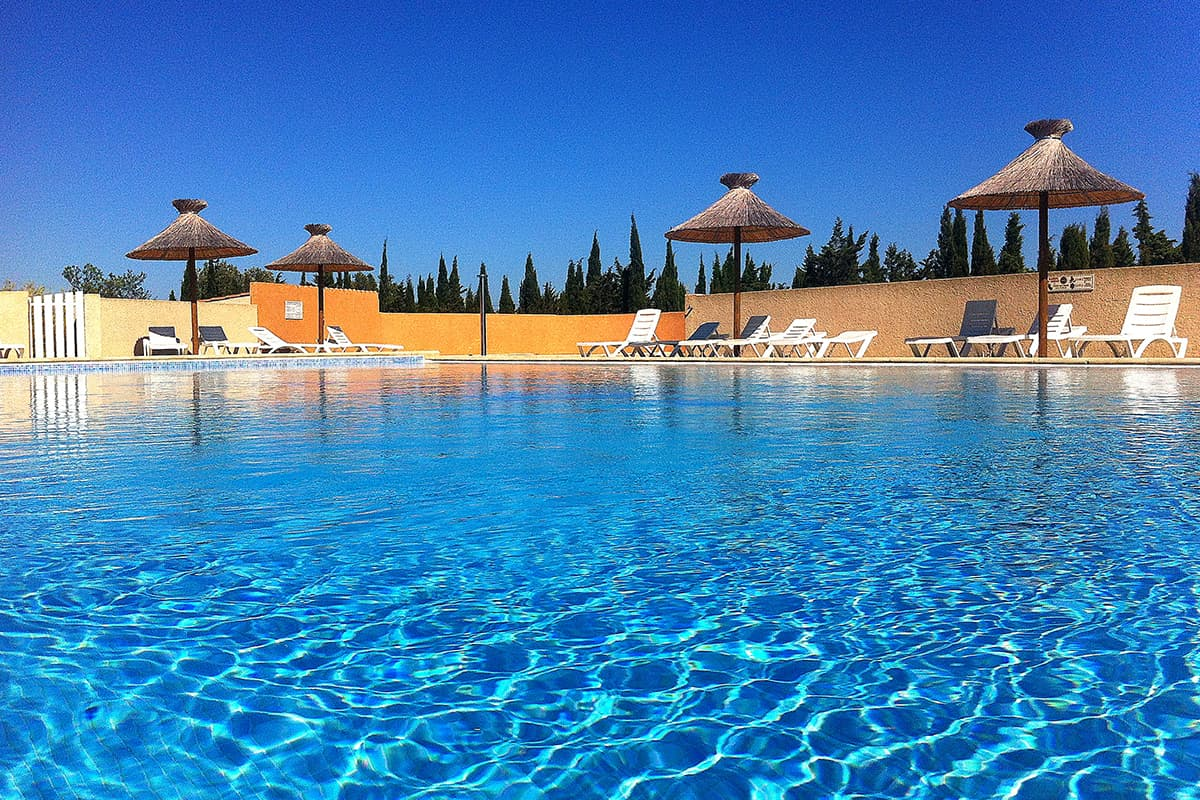 Camping Aude - Camping Le Fun piscine